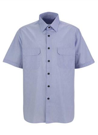 Blue Oversize Shirt Estelita Mendonça Mini