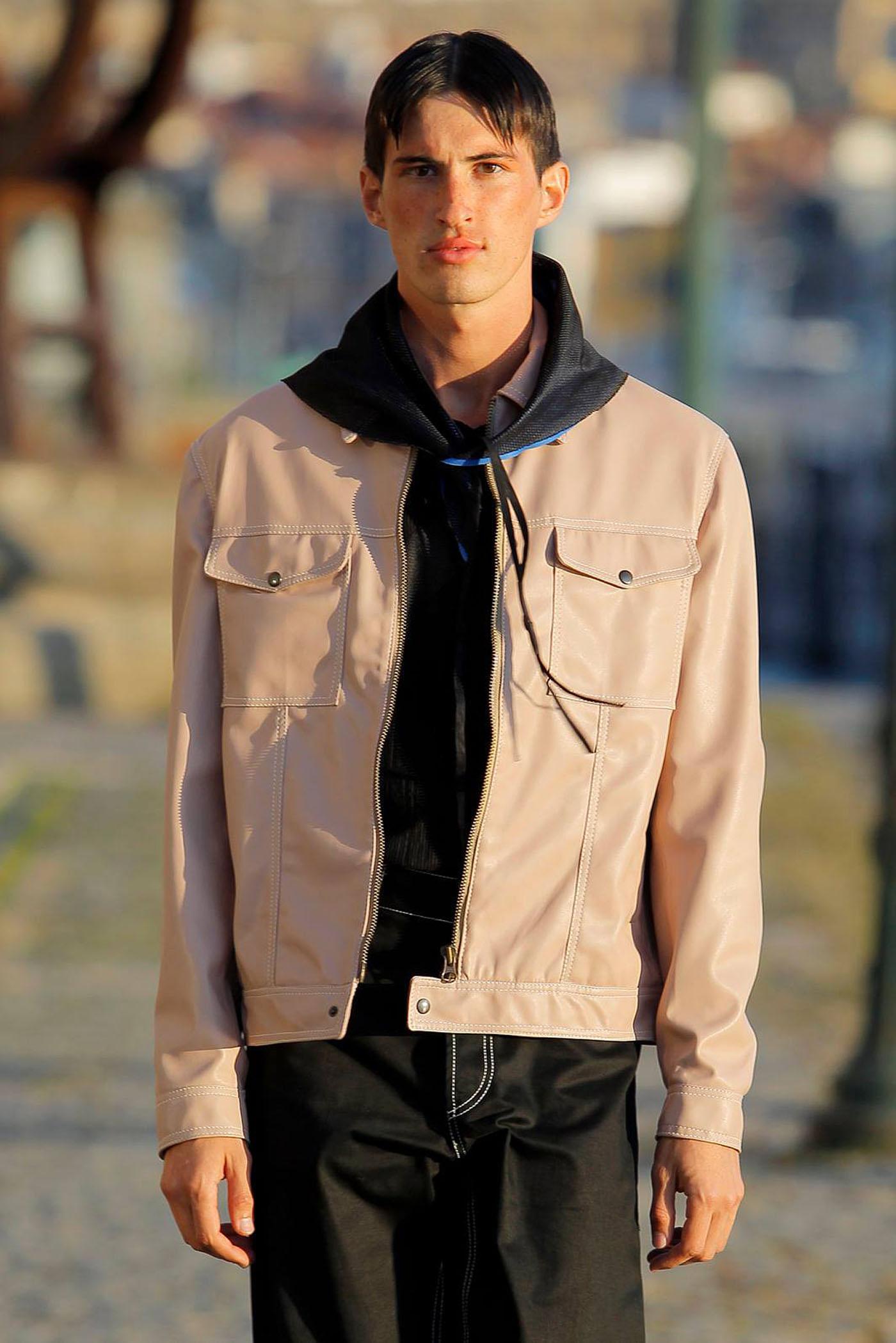 Dusty Pink Jacket Estelita Mendonça
