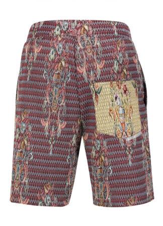 Jacqard Brocade Shorts Estelita Mendonça Mini