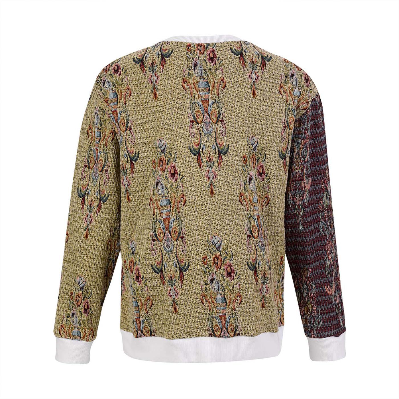 Jacquard Brocade Sweater Estelita Mendonça