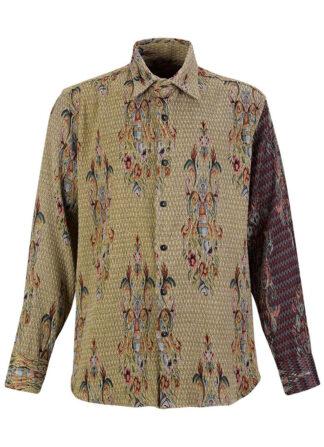 Jacqard Brocade Shirt Estelita Mendonça Mini
