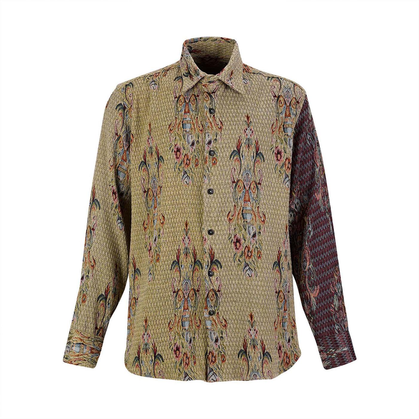 Jacqard Brocade Shirt Estelita Mendonça