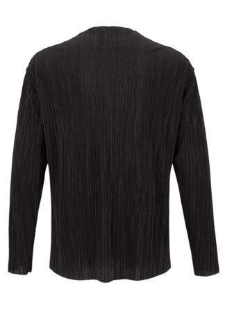 Pleated Plain Sweater Estelita Mendonça Mini