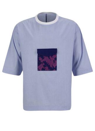 Poplin T-Shirt Estelita Mendonça Mini
