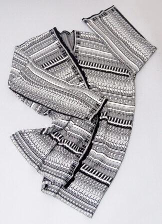 Black and White Kimono Susana Bettencourt SCAR-ID