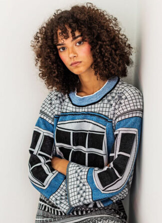 Round Neck Sweater Susana Bettencourt SCAR-ID