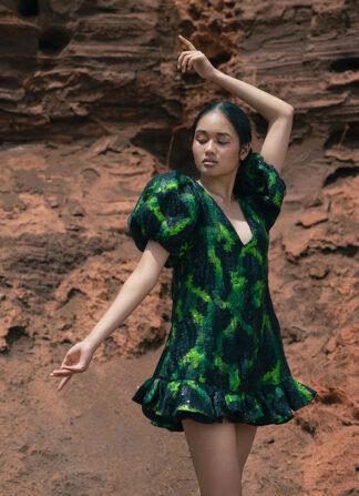 Green Dress Nopin