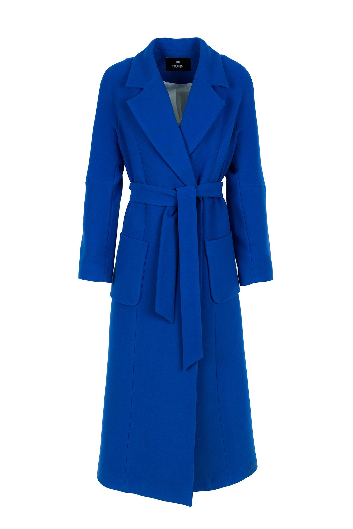 Nopin Blue Long Coat