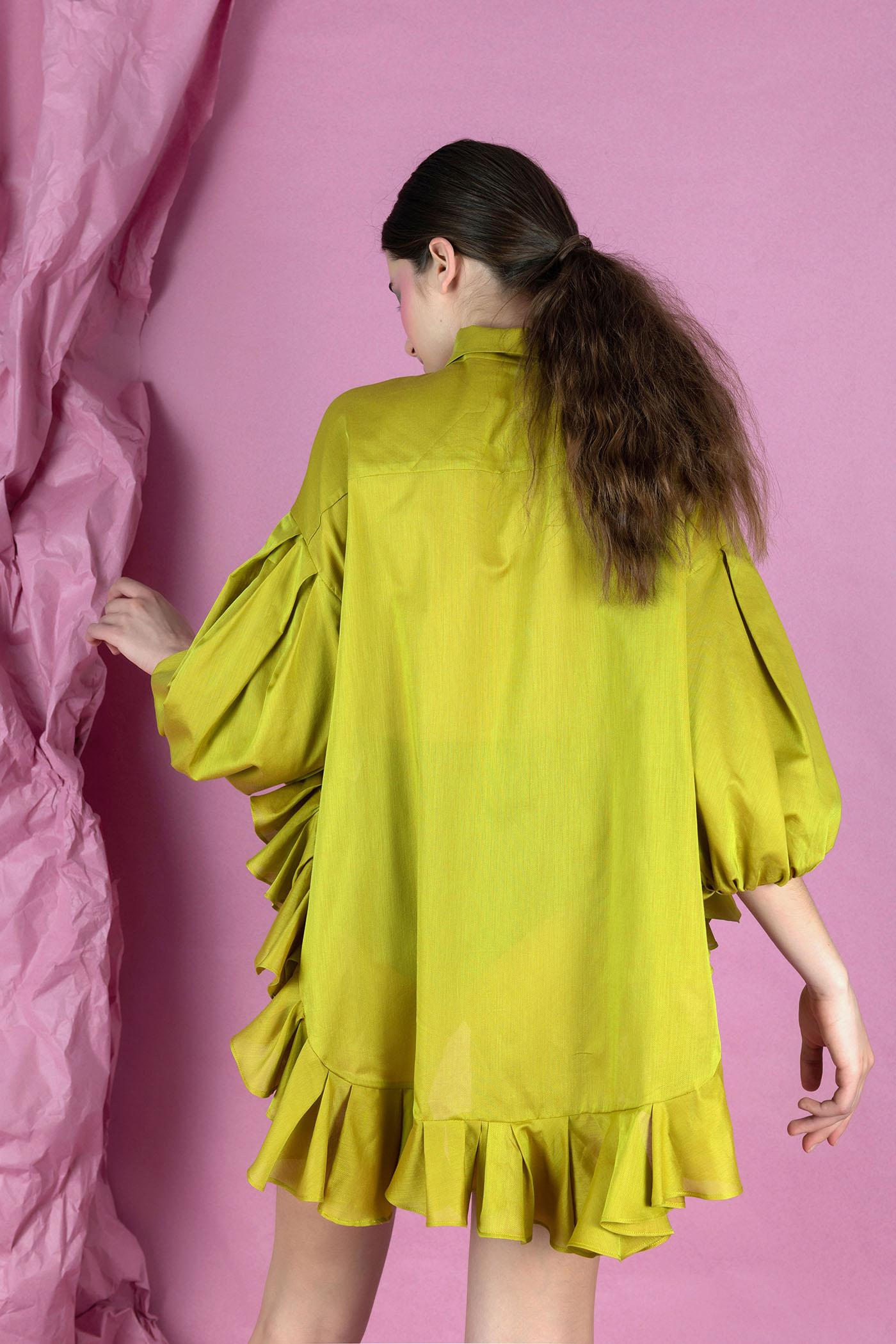 Mustard Shirt Nopin